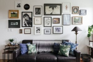 Pictures Hanging as an Interior Designer