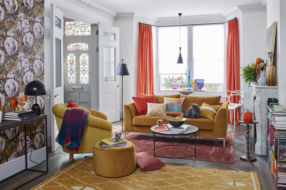 How to add colour into your home.