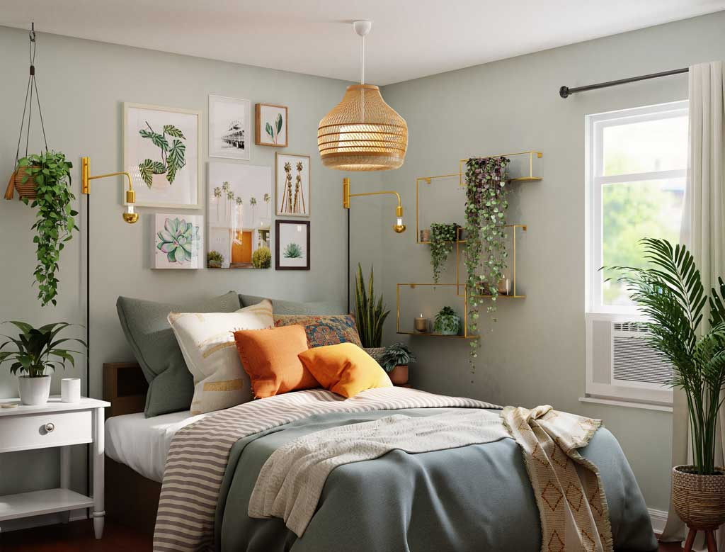 Jane Thompson Interior Designer-how to add colour to a bedroom