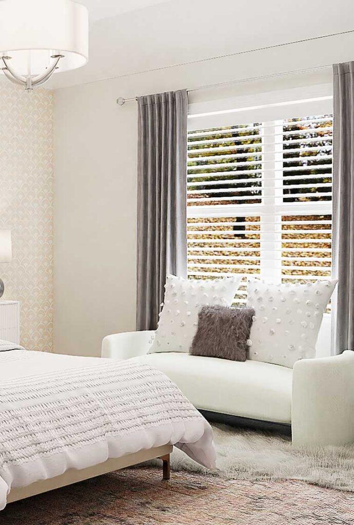 Jane Thompson Interior Design - Bedroom Curtains